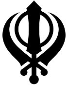 Khanda, one of the most important symbols of Sikhism